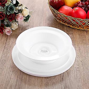 Biały 11'' 28cm Cake Making Gramofon Obrotowy wyświetlacz platformy dekoracyjnej