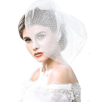 Velo suave red tocado boda novia peluquería velo