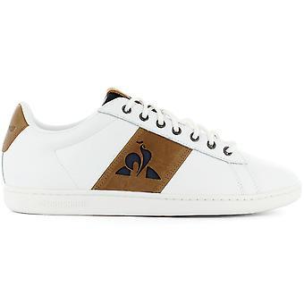 Le Coq Sportif Master Court Waxy - Men's Shoes White 2021602 Sneakers Sports Shoes