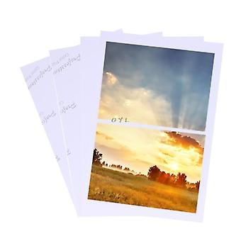 Fogli lucidi, carta fotografica per stampante a getto d'inchiostro