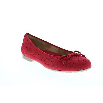 Earth Adult Womens Allegro Flat With Bow Ballet Flats