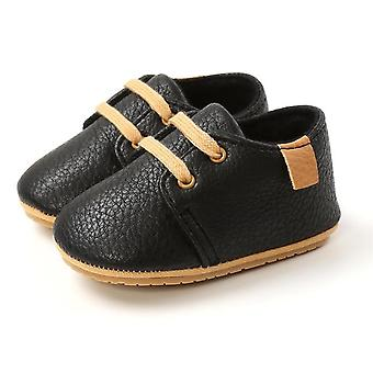 Baby first walkers shoes retro leather anti-slip