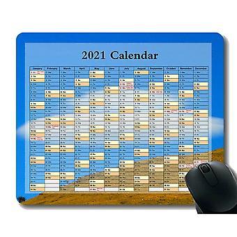 (260x210X3) Kalendář 2021,Roční období různých Colo Mouse Pad, Vesmírný vesmír Kometa Země Let Do