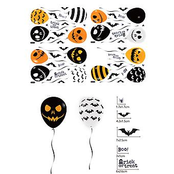 4pcs Halloween Window Clings Halloween Window Stickers for Party Decoration