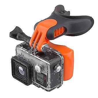 Портативный Bite Snowboard Плавающая камера Mouth Mount Set