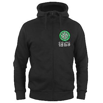 Celtic FC masculino sudadera con capucha cremallera vellón regalo oficial de fútbol