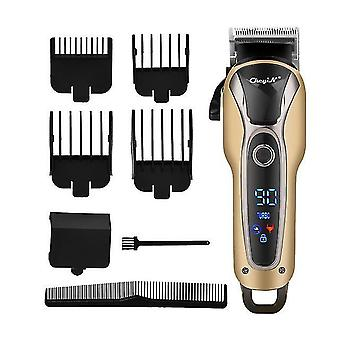 Profesjonalny fryzjer maszynka do strzyżenia włosów Akumulator elektryczny t-outliner wykończenie maszyna do cięcia brody
