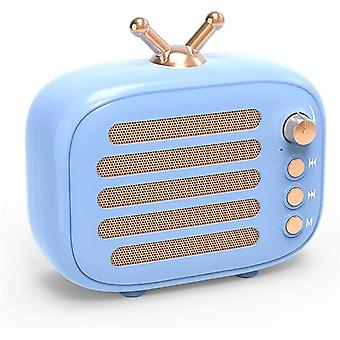 Bluetooth Stereo Speaker,retro Radio, Wireless Stereo Retro Speakers