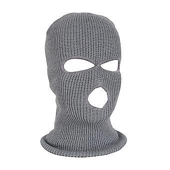 Full Face Ski Mask Winter Cap Balaclava Hood Beanie Warme Tactische Hoed 3 Hole