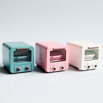 Dollhouse Oven 1/6 1/12 Dollhouse Alloy Microwave Oven Miniature
