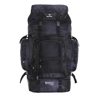 Karabar Makalu 80 Litres Travel Backpack, Black