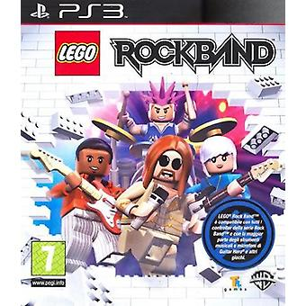 Lego Rock Band PS3 Game PlayStation 3