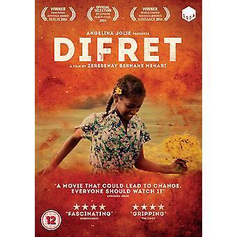 Difret [DVD] USA import