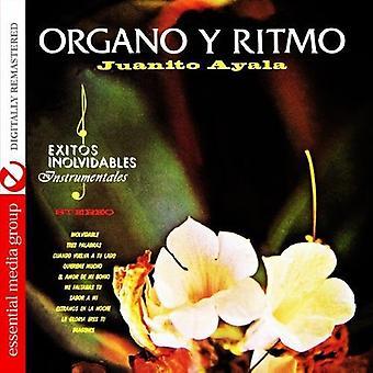 Juanito Ayala - Organo Y Ritmo [CD] USA import