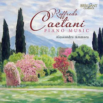 Caetani - Caetani: Piano Music [CD] USA import