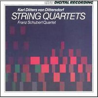 K.D.Von Dittersdorf - Karl Ditters Von Dittersdorf: importación de USA de cuartetos [CD]
