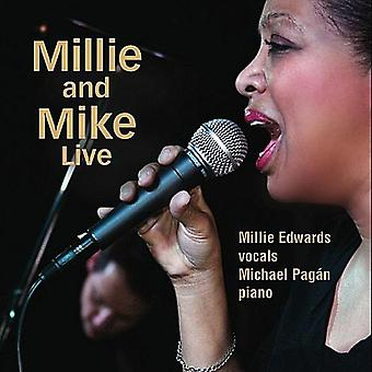 Millie Edwards - Millie & Mike Live [DVD] USA importere