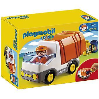 Camion de recyclage Playmobil 1.2.3 6774