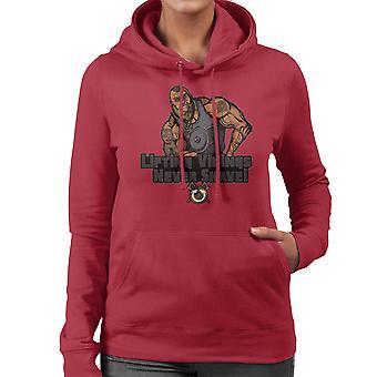 Liftin Vikingen scheren nooit vrouwen Hooded Sweatshirt