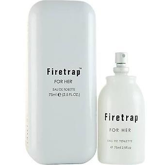 Firetrap för Her Eau de Toilette 75ml EDT Spray