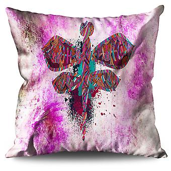 Insect Fly Nature Animal Linen Cushion 30cm x 30cm | Wellcoda