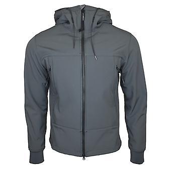 CP Company Grey Soft Shell Goggle Jacket