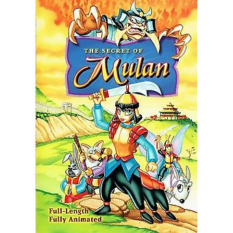 Hemmeligheten av Mulan [DVD] USA import