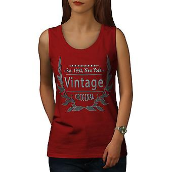 New York City Women RedTank Top | Wellcoda