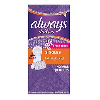 Always Dailies Panty Liners