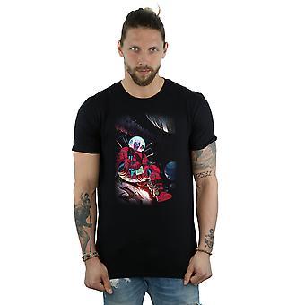 Marvel mænds Deadpool Astronaut T-Shirt