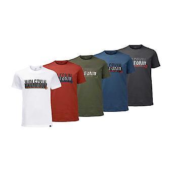 Jack Wolfskin Mens Slogan T-Shirt
