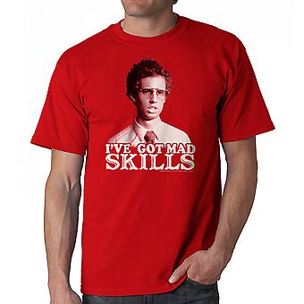 Napoleon Dynamite Mad Skills Men's Red Funny T-shirt