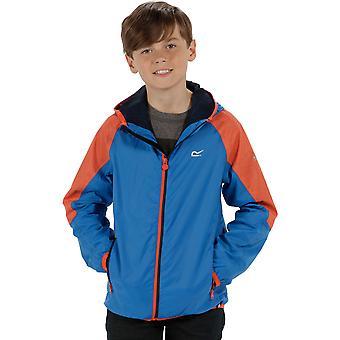 Regaty chłopców & dziewczyny Teega wodoodporny lekki płaszcz oddychająca kurtka