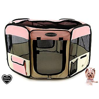 VALENTINA VALENTTI FABRIC FOLDABLE PET PLAY PEN
