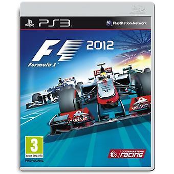 F1 2012 (PS3) - Uusi