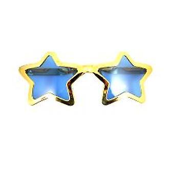 Металлические очки форме Джамбо звезды