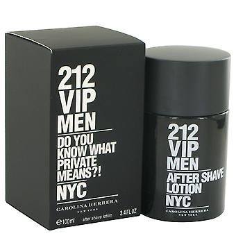 Carolina Herrera 212 VIP mænd Aftershave 100ml Splash
