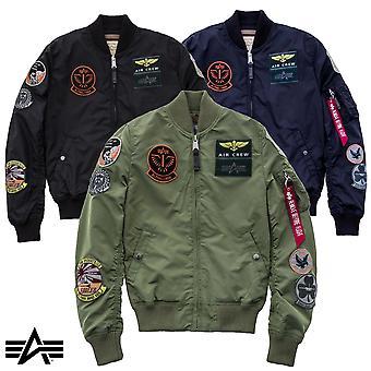 Alpha industries MA-1 jas TT patch