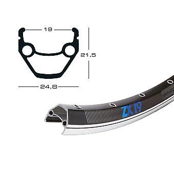 Exal ZX 19 bicycle wheel black / / 622-19 (28″)