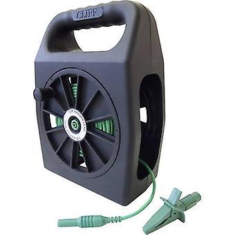 Cliff CIH299430 Safety test lead et [4 mm plug - 4 mm socket] 30 m Green