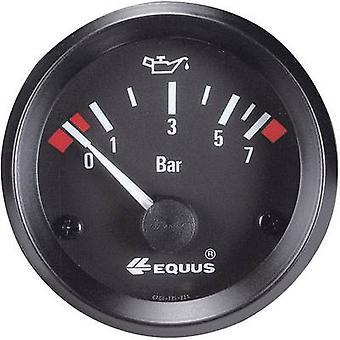 ايكوس النفط قياس الضغط 0-7 بار 12V