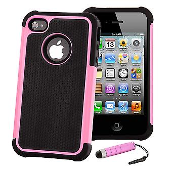 Shock Proof Case Cover For Apple iPod Touch 5 - Baby Pink