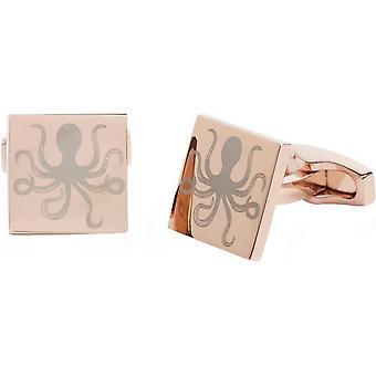 Simon Carter Under The Sea Octopus Cufflinks - Rose Gold