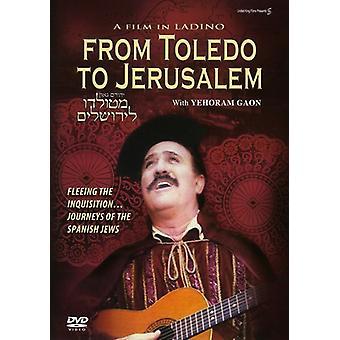 Toledo to Jerusalem [DVD] USA import