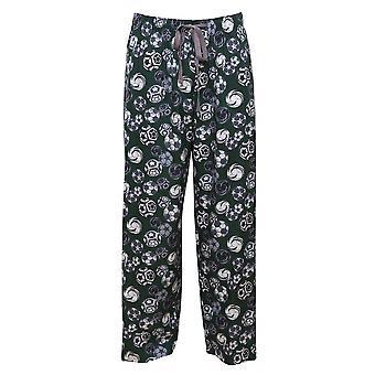 Cyberjammies 6338 mäns Alfie grå fotboll Print pyjamas byxa