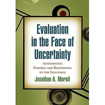 Évaluation dans l'incertitude: anticiper la Surprise et répondant à l'inévitable