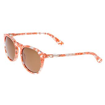 Sixty One Vieques Polarized Sunglasses - Pink Tortoise/Brown