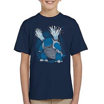 Pokemon veden Blastoise Lasten t-paita