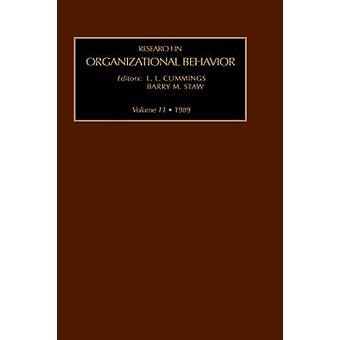 Research in Organizational Behavior by Staw & Barry M.