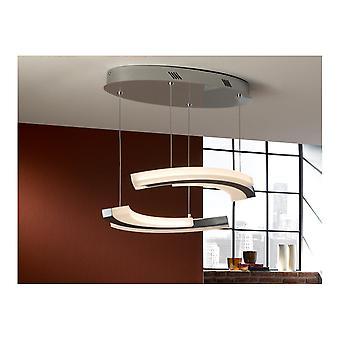 Schuller Modern Chrome LED Hanging Ceiling Light Pendant